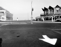 "View From Ocean Ave.  Asbury Park, NJ 14""x18"" Gelatin Silver Print 1995"