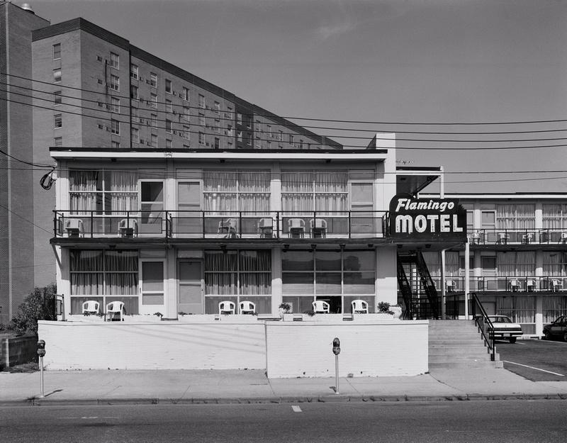 Aubrey J Kauffman S Points Flamingo Hotel Asbury Park Nj 14 X18 Gelatin Silver Print 1995