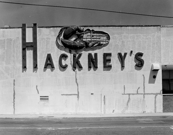 "Hackney's, Atlantic City, NJ 14""x18"" Gelatin Silver Print 1995"